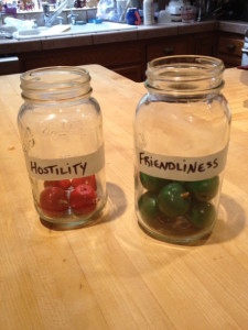 Which jar are you filling up today?